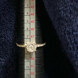 ギラギラダイヤK18PGリング(リング(指輪))