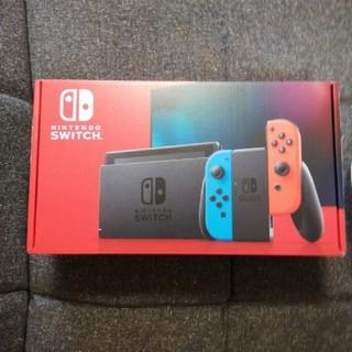 新品Nintendo Switch ネオンブルー