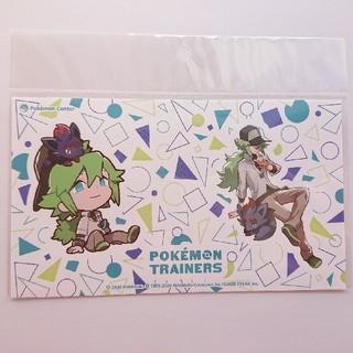 ポケモン(ポケモン)のポケモントレーナーズ Pokemon trainers ステッカー N(しおり/ステッカー)