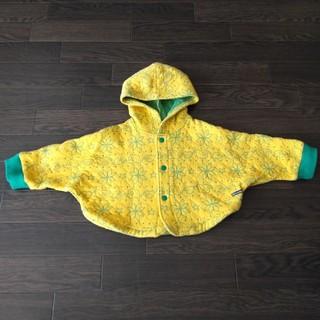 ムージョンジョン(mou jon jon)の美品 上着 90 ポンチョ moujonjon ムージョンジョン アウター (ジャケット/上着)
