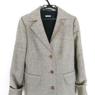 ミュウミュウ(miumiu)のミュウミュウ コート サイズ42 M - 長袖/冬(その他)