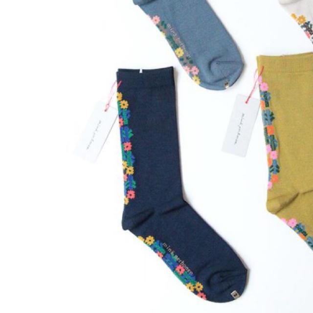 mina perhonen(ミナペルホネン)のあっこ様 専用 レディースのレッグウェア(ソックス)の商品写真