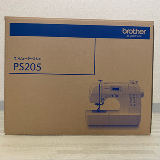 brother - 一般用ミシン brother PS205 ホワイト コンピューターミシン