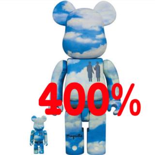 MEDICOM TOY - BE@RBRICK René Magritte 100% 400%