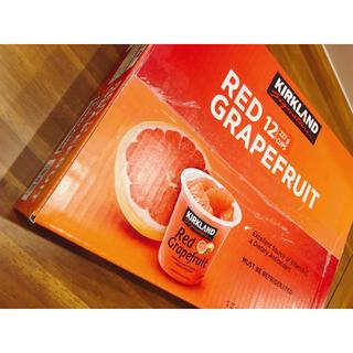 コストコ(コストコ)のコストコ カークランドシグネチャー グレープフルーツシロップ漬け 1箱(フルーツ)