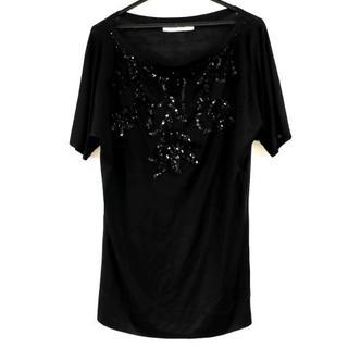 クリスチャンディオール(Christian Dior)のクリスチャンディオール 半袖カットソー 黒(カットソー(半袖/袖なし))