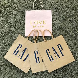 ギャップ(GAP)のショップ袋 GAP  4枚セット(ショップ袋)