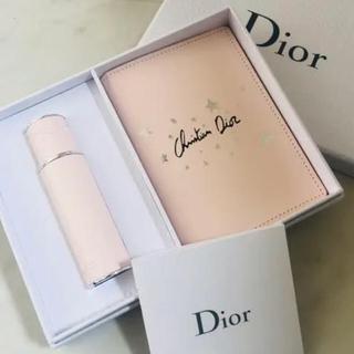 Christian Dior - Dior * ノベルティ * ミスディオール アトマイザー & パスポートケース
