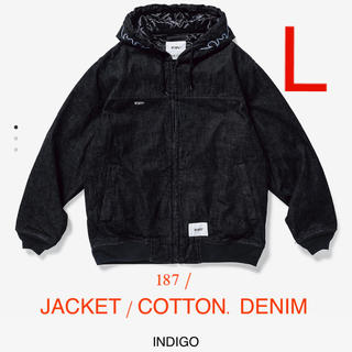 W)taps - 187 / JACKET / COTTON. DENIM L indigo