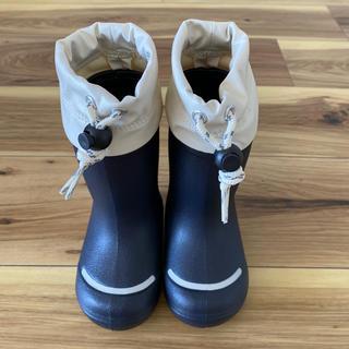 ムジルシリョウヒン(MUJI (無印良品))の【美品】無印良品 キッズ長靴(長靴/レインシューズ)