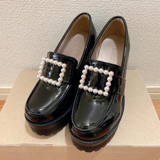 ロジータ(ROJITA)のROJITA 厚底 ローファー エナメル 靴(ローファー/革靴)