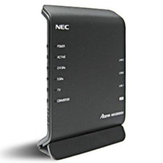 エヌイーシー(NEC)の【新品未使用】NEC PA-WG1200HS4(NE)(PC周辺機器)