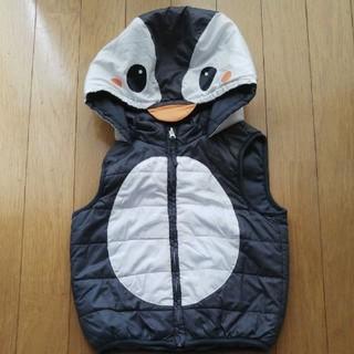 エイチアンドエム(H&M)のH&M ペンギン風ダウンベスト サイズ90(ジャケット/上着)