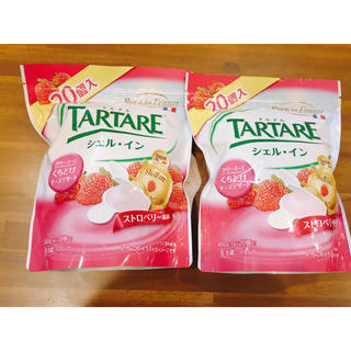 コストコ(コストコ)のコストコ シェルイン ストロベリー チーズデザート 2袋(菓子/デザート)