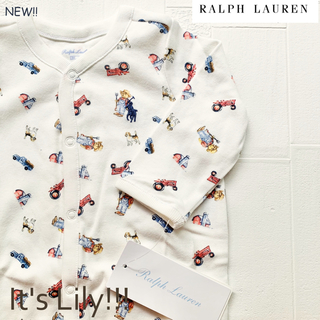 Ralph Lauren - 新作6m70cm  ユニセックス  ラルフローレン ロンパース