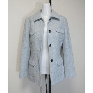 ハロッズ(Harrods)のHarrods ハロッズ ヘリンボーンでハーフ丈の長袖ジャケットコート 1(テーラードジャケット)