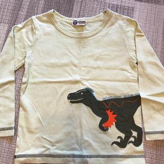 kp ケーピー  ボーイ ロンT 恐竜
