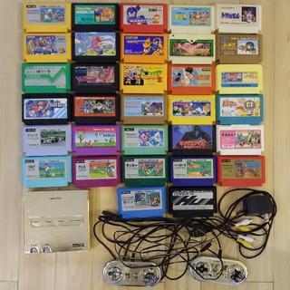 すぐに遊べる ファミコンセット カセット32本 初期動作確認済み 清掃済み