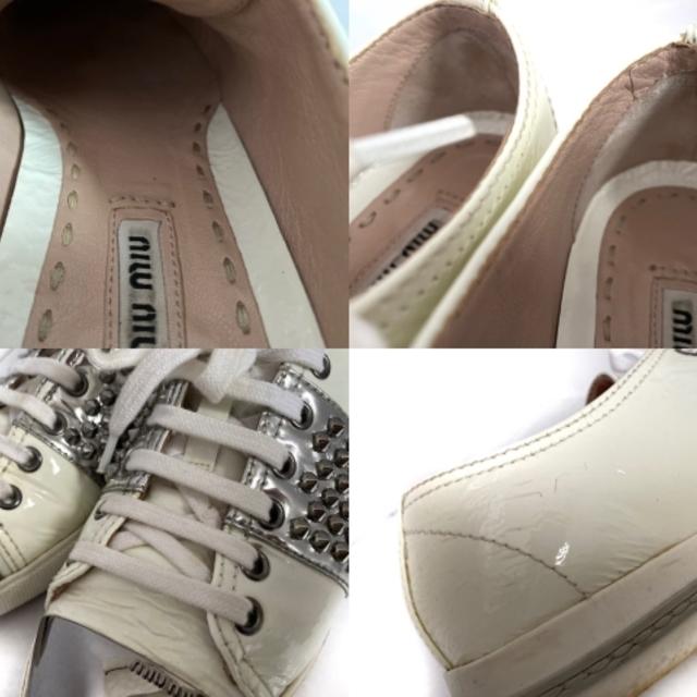 miumiu(ミュウミュウ)のミュウミュウ スニーカー 36 レディース - レディースの靴/シューズ(スニーカー)の商品写真