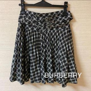 BURBERRY - ☆BURBERRY LONDON☆ チェックスカート ギンガムチェック 38