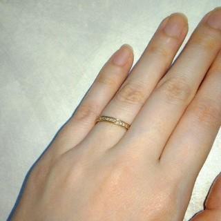 K18PG フルエタニティリング 指輪(リング(指輪))
