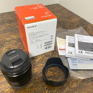SONY - 【美品】SONY  FE 28mm F2 SEL28F20  広角レンズ