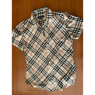 バーバリー(BURBERRY)のBurberry チェックシャツ 半袖(シャツ/ブラウス(半袖/袖なし))
