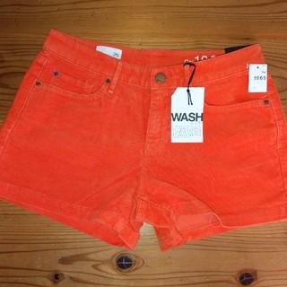 ギャップ(GAP)の新品タグ付き Gap パンツ オレンジ 26(ショートパンツ)