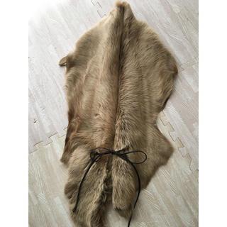 ティアンエクート(TIENS ecoute)のティアンエクートで購入 ファーストール 毛皮 マフラー(ストール/パシュミナ)
