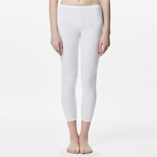 ミズノ(MIZUNO)のミズノ ブレスサーモ タイツ レギンス 薄手 ロングタイツ XL 白 新品(アンダーシャツ/防寒インナー)