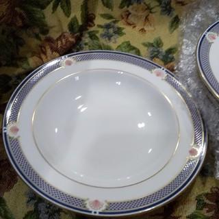 ウェッジウッド(WEDGWOOD)のウェッジウッド WAVERLEY ウェーバリー スープ・パスタ皿×6枚(食器)
