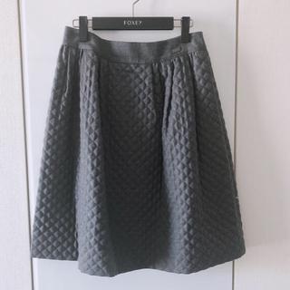 FOXEY - フォクシー foxey キルティング スカート Diagonal