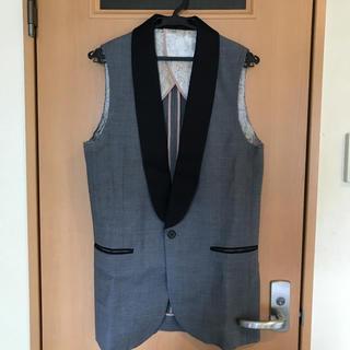 DOUBLE STANDARD CLOTHING - ソブ  ダブルスタンダード  バイカラージレ