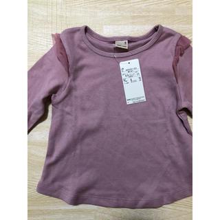 petit main - プティマイン 新品 100cm 長袖 トップス ピンク 女の子
