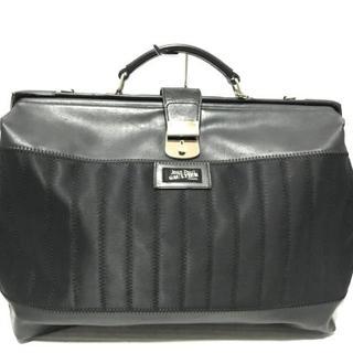 ジャンポールゴルチエ(Jean-Paul GAULTIER)のゴルチエ ハンドバッグ - 黒(ハンドバッグ)