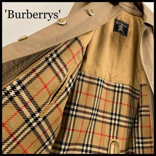 BURBERRY - BURBERRY バーバリー ステンカラーコート ブラウン ライナー付 美品