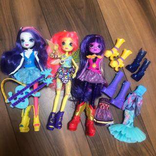 バービー(Barbie)のエクエストリアガールズ3体 モンスターハイ ブライス パワーパフガールズ ドール(キャラクターグッズ)