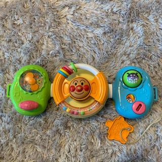 アンパンマン(アンパンマン)のアンパンマン ベビーカー チャイルドシート おもちゃ(ベビーカー用アクセサリー)