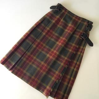 オニール(O'NEILL)のO'NEIL OF DUBLIN キルトスカート(ひざ丈スカート)
