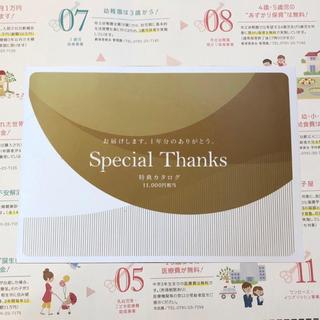 エヌティティドコモ(NTTdocomo)のdocomo ドコモ special  thanks 特典カタログ 11000円(ショッピング)