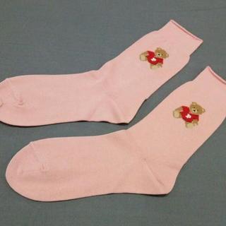 PINK HOUSE - ピンクハウス 小物美品  - 靴下/ベア