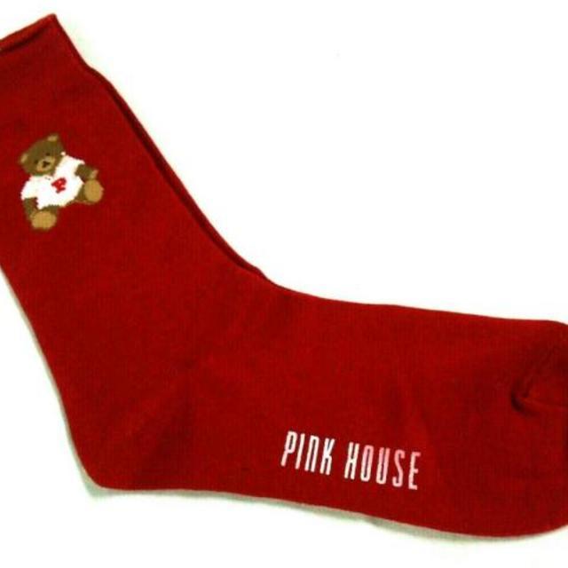 PINK HOUSE(ピンクハウス)のピンクハウス 小物新品同様  - 靴下/ベア レディースのファッション小物(その他)の商品写真