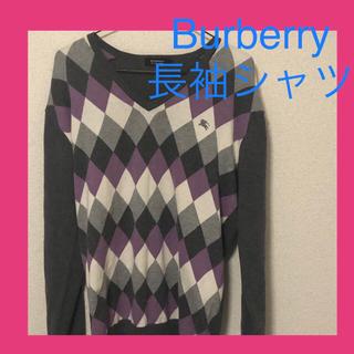 バーバリーブラックレーベル(BURBERRY BLACK LABEL)のバーバリー 長袖Tシャツ(Tシャツ/カットソー(七分/長袖))