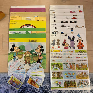 Disney - 未使用 DWE アクティビティ・トレジャーボックスの中身色々