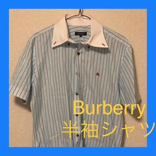 バーバリーブラックレーベル(BURBERRY BLACK LABEL)のバーバリー 半袖シャツ(ポロシャツ)
