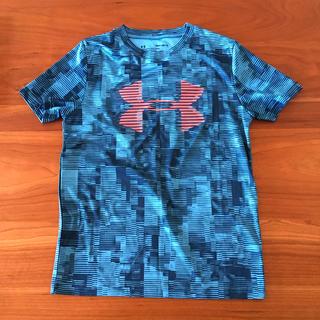 アンダーアーマー(UNDER ARMOUR)の美品 アンダーアーマー YMD トレーニングウェア ミニバス 130 (Tシャツ/カットソー)