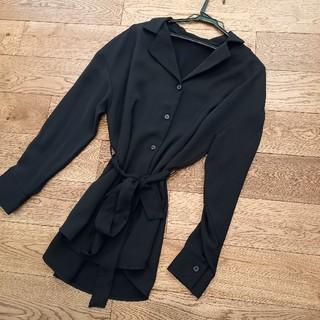 GU - GU 黒シャツ