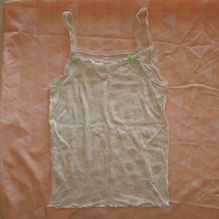 Wacoal - ●Sサイズ(身長150対応)Wacoalキャミソール肌着 緑未着用・洗濯のみ