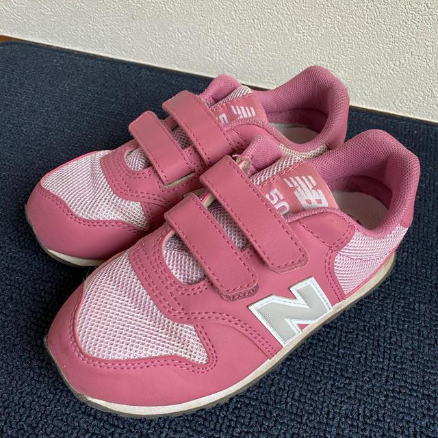 New Balance(ニューバランス)のニューバランス キッズスニーカー 18cm キッズ/ベビー/マタニティのキッズ靴/シューズ(15cm~)(スニーカー)の商品写真