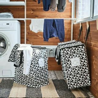 IKEA - 便利*☆イケア新品IKEA クナラ エコバッグ 収納 袋 トートバッグ♪大容量